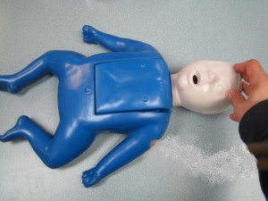 Infant CPR Training Mannequin