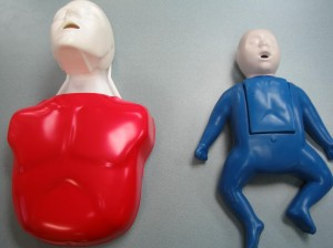 Adult and pediatric training mannequins