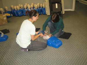 Infant CPR Courses in Fort McMurray